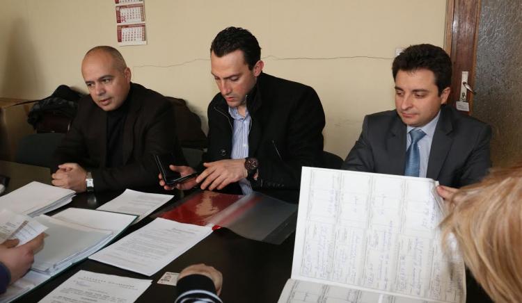 Георги Свиленски и Димитър Данчев регистрираха листата на социалистите в 24-и МИР
